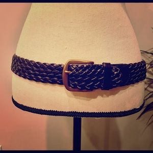Linea Pelle - Black Leather Belt